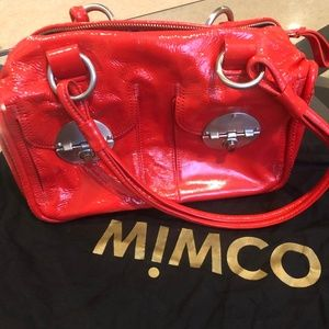 Mint condition red Mimco handbag